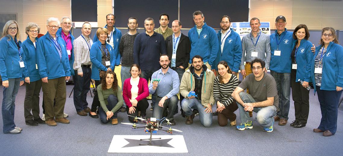 the laboratory team